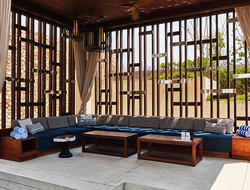 Bali inspires Rockwell Group's designs for two new venues at Hakkasan Group's Alila Villas Uluwatu, Bali.