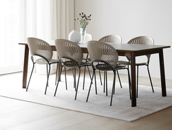 Fredericia presented a selection of new shades, including smoked, grey and light grey oak.