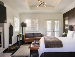 Opening of Hotel Villagio completes rebranding of The Estate Yountville involving HBA, Illuminate, Canvas and SB Architects.