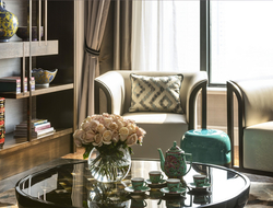 Four Seasons Hotel Singapore unveils themed suites following 12-month room renovation led by HBA.