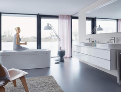 Duravit launched Happy D.2, a complete bathroom solution designed by Sieger Design.