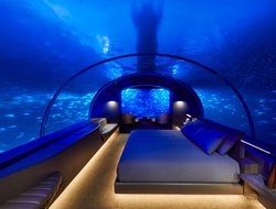 Conrad Maldives Rangali Island resort opened the first-ever underwater hotel residence, THE MURAKA.