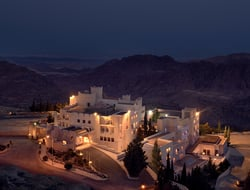 Mohd Shahaltough renovates rooms of Petra's fortress-style Mövenpick Nabatean Castle Hotel.