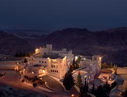 Mohd Shahaltough renovates rooms of Petra's fortress-style Mövenpick Nabatean Castle Hotel.