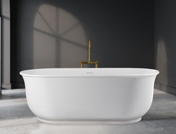 MTI Baths expanded its Designer collection with five freestanding tubs manufactured in MTI's proprietary mineral composite material.