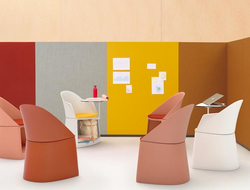 Designed by Barcelona studio Lievore Altherr, Cila Go is suitable for educational environments .