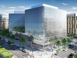 Herzog & de Meuron, HKS Inc., Rottet Studio combine for first Conrad property in Washington, DC.