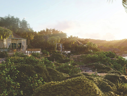 How the Caribbean and environmental aesthetic influenced Studio Piet Boon's design of Half Moon Bay Antigua.