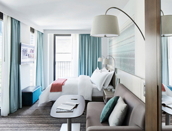 How natural harmony inspired Stonehill Taylor's interior design for Park Terrace Hotel.