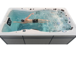Master Spas designers changed the user interface to make operating a Master Spas hot tub or swim spa intuitive.