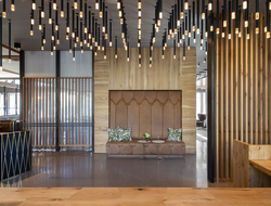 Parisa O'Connell and Clinton Miller design Park James Hotel in Silicon Valley.