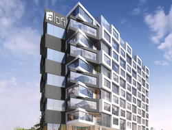 Arquitectonica, Caparra & Entelman design first Aloft in Peru.