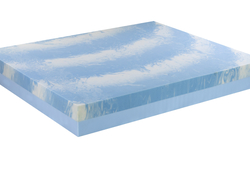The internal structure of this foam features an open-cell construction, which increases airflow within the mattress for enhanced freshness and coolness.