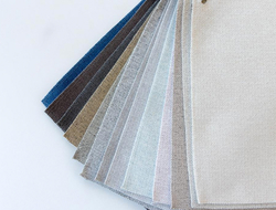 The Specialty Interiors business of Milliken & Company launched the new texture-driven Breathe by Milliken home fabrics, including cotton-linen blends and chenilles.
