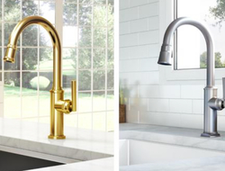 Newport Brass, manufacturer of brass faucets and accessories for the kitchen and bath, introduced three new kitchen suites.