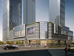Lead8 and Goettsch Partners design mixed-use complex in China.