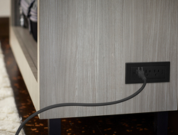 Legrand expanded its Radiant furniture power center collection to include new power only units.