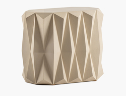 Designed by founder and lead designer Mitch Brean, the table is reminiscent of the company's Pucati side table.