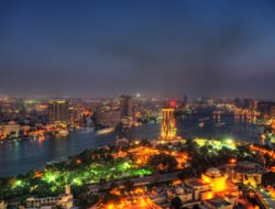 Cairo Skyline from Cairo Tower