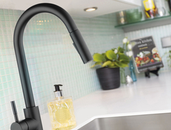 Both the SK222 and the K410 faucets are made from type 304 stainless steel with zero lead content for durability.