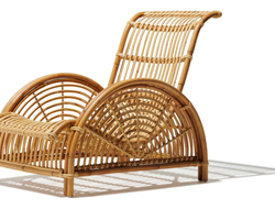 Consisting of complementary pieces like the Monet wicker chair and Marseilles bench, the Monaco collection is made of rattan.
