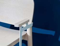 Created by Finnish designer Harri Koskinen, White was inspired by the Nordic design of the Sixties.
