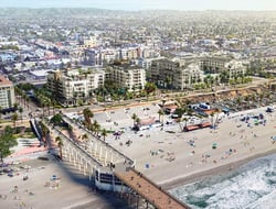 Slated to open in 2020, the project is being developed by S.D. Malkin Properties. Involved in the design of the properties is architecture firm Delawie of San Diego.