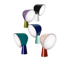 Be/Colour is a limited collection by Ferruccio Laviani that uses color to reinterpret some of Foscarini's iconic lamps.