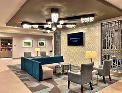 A lobby at Best Western Premier Hotel at Fisher's Landing
