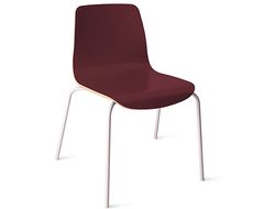 Finish options include laminate shells and channel-stitched upholstery, in a range of HBF colors.