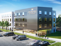 Hoefer Wysocki helps design Microtel by Wyndham 'Moda' prototype.