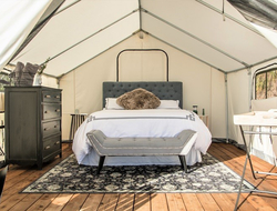 Terra Glamping to launch site in East Hampton's Cedar Point County Park.