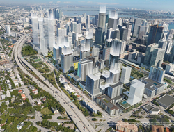 Smart Brickell eyes 2021completion as mixed-use hotel and residential project.