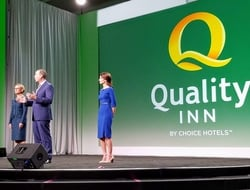 Quality Inn Logo Launch