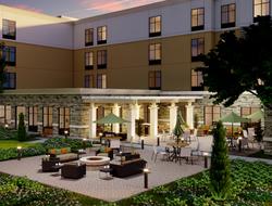 Rendering of Homewood Suites by Hilton Poughkeepsie