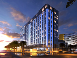 The 400-room hotel overlooks the San Diego bayfront, and is owned by Portman Holdings and managed by IHG.