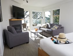 Tofino's Pacific Sands Beach Resort renovates beachfront lodge suites.