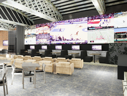 DMAC Architecture designs betting lounge in Rivers Casino & Resort Schenectady, NY.