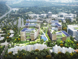 Pickard Chilton to master plan, design urban development in Stuttgart, Germany.