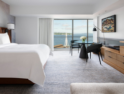 Seattle inspires Wimberly Interiors' redesign of Four Seasons Hotel Seattle.