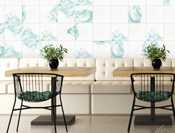 Inspired by the traditions of watercolor painting, Villa Lagoon Tile is the first manufacturer to offer this hand-made watercolor process for cement tiles.