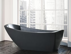 The tub still has the same wide, open dimensions but now features a slightly higher back for bonus ergonomics in the bath.