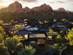 ASUL Architects designs Ambiente, A Landscape Hotel in Sedona, Arizona.
