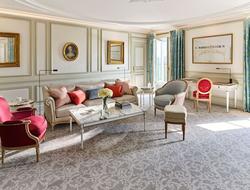 Le Meurice in Paris renovates rooms, penthouse suite.