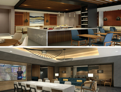 Kraig Kalashian Architecture & Design renovates Chicago Marriott Schaumburg.