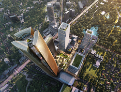 In the development of One Bangkok, involved are urban designer Skidmore Owings & Merrill and Thai architectural firm A49 to create its mixed-use development.