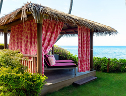 Jana Lam designs 'Cabanas for a Cure' in Hyatt Regency Maui Resort and Spa.