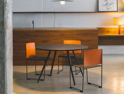 The streamlined form of Stacy makes it ideal for use in a number of contract settings, including healthcare, workplace, hospitality and education.