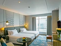 Centara begins room upgrade at flagship Bangkok hotel.