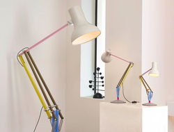 Anglepoise teamed up with British fashion designer Paul Smith to re-interpret the Anglepoise Type 75 range of lights.